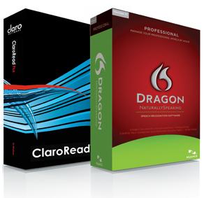 Dragon NaturallySpeaking and ClaroRead Bundles