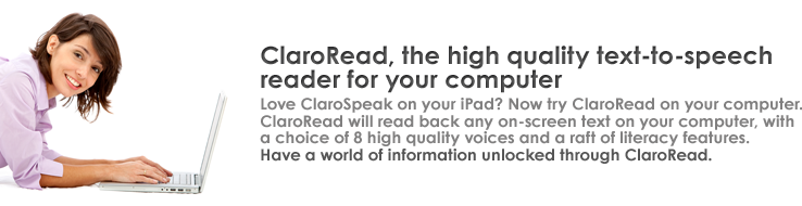 ClaroRead from Claro Software
