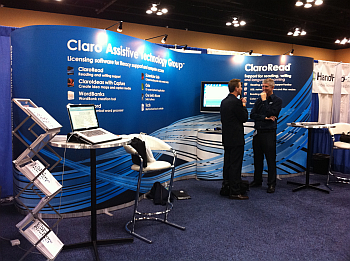 Claro Software Stand at ATIA Chicago 2010